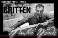 Britten Winter Words